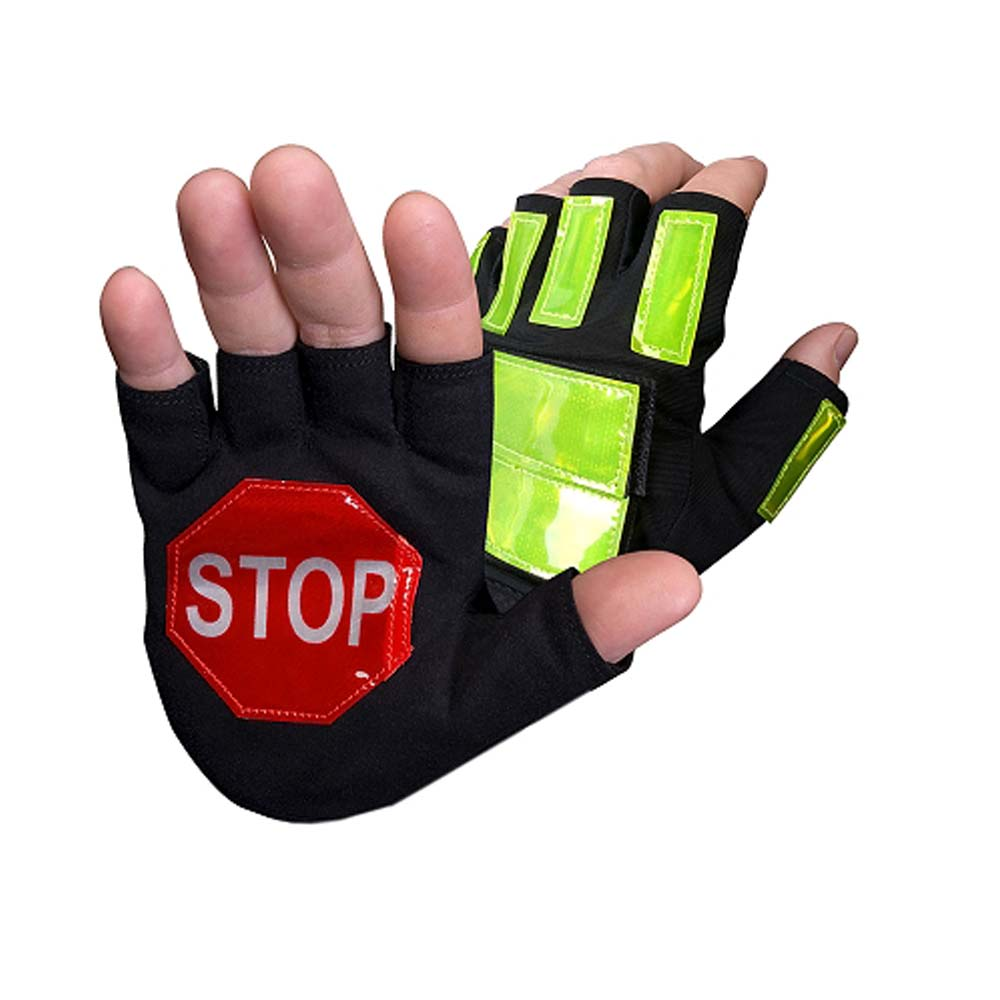 safety gloves with reflectors
